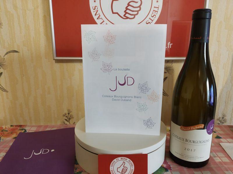 découverte de la box mensuelle - Les vins JUD (vins éthiques et Bio) @ Tests et Bons Plans
