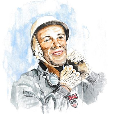 STIRLING MOSS : HOMMAGE AU PILOTE