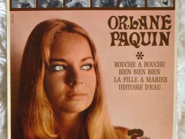 orlane paquin, une carrière assez bréve de comédienne lors des années 1970 et une chanteuse plutôt libertine