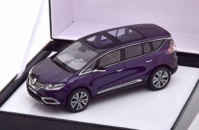1/43 : Le Renault Espace 5 Initiale Paris de Norev à 9,95 €
