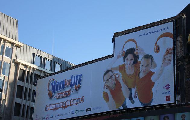 Liège, place St-Etienne: Viva for Life
