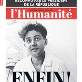 MAURICE AUDIN : LE CRIME D'ÉTAT ENFIN RECONNU !