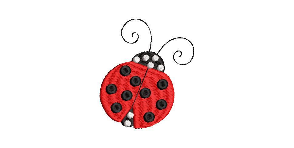 BRODERIE COCCINELLE