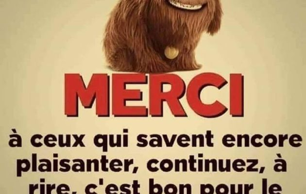 ON CONTINUE A RIRE....