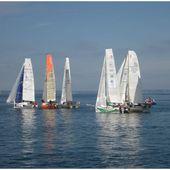 230 bis Mini Transat 2013 Les voiliers 6,50 m Photos en baie de Douarnenez - SKREO-Dz