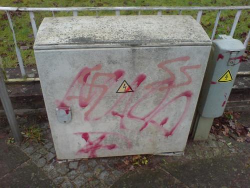 Bildervon Nazi Schmierereien Januar 2009. Fotos: Recherche SFA und andere (staht dann bei den Bildern)