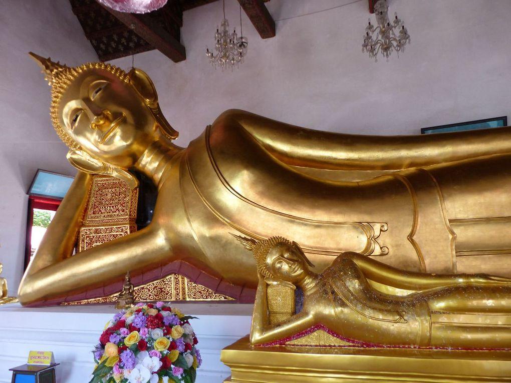 Les temples de Phra Pradaeng