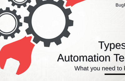 Types of Automation Tests You Should Be Aware Of
