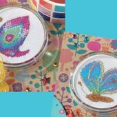 Free Cross Stitch Patterns: 1 hour projects