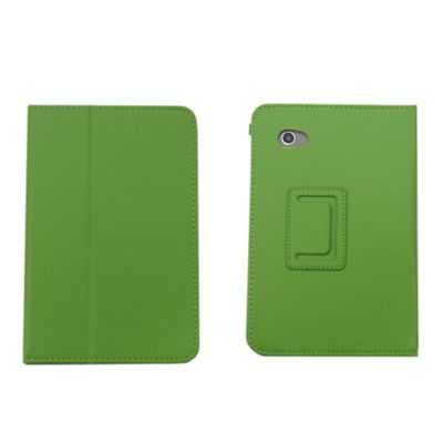 New Leather Smart Case Cover for Samsung Galaxy Tab 2 P3100 P3110 7 Inch Tablet -Green