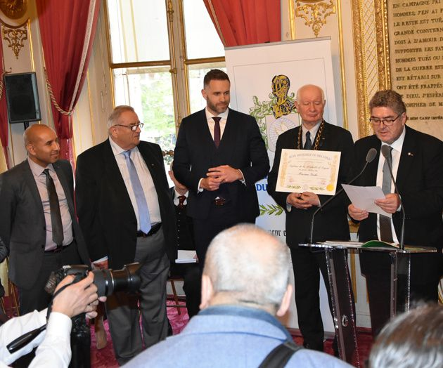 REMISE DE DISTINCTIONS DU 27 MARS 2019