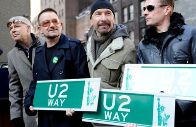 U2 - 'U2 Way' à New York - 3 mars 2009