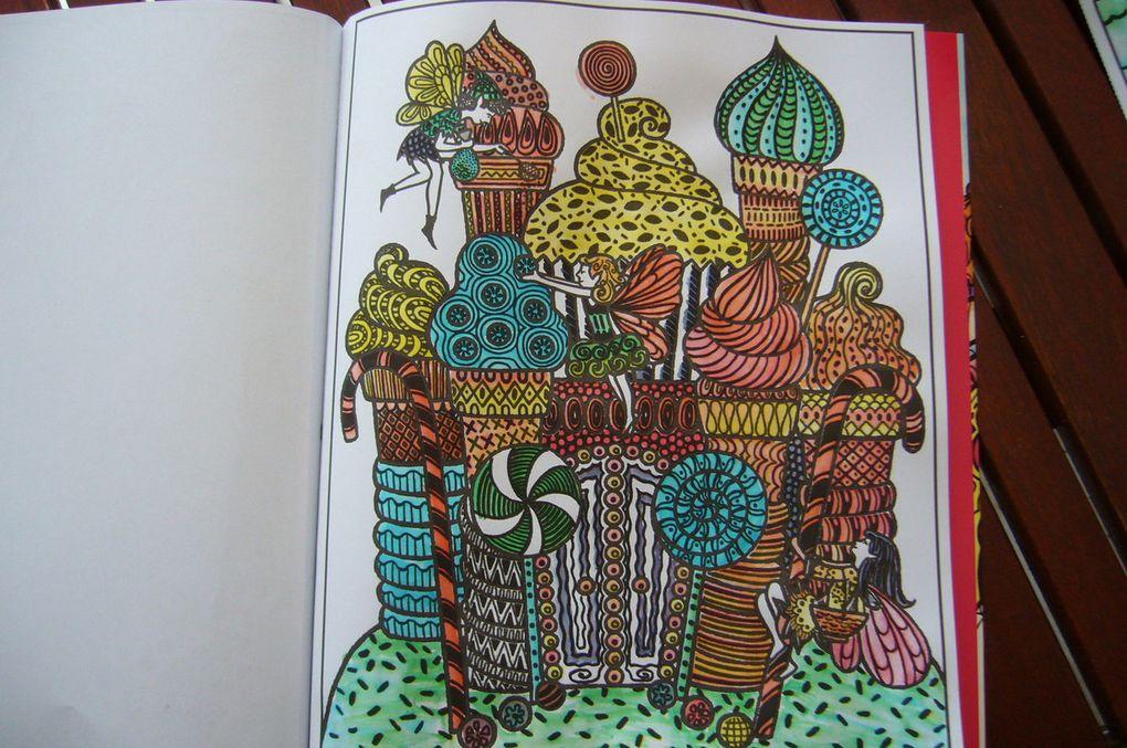La peinture magique - Les palais des fées - Editions Usborne