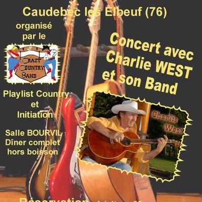 Agenda - 12 octobre 2013 - CHARLIE WEST