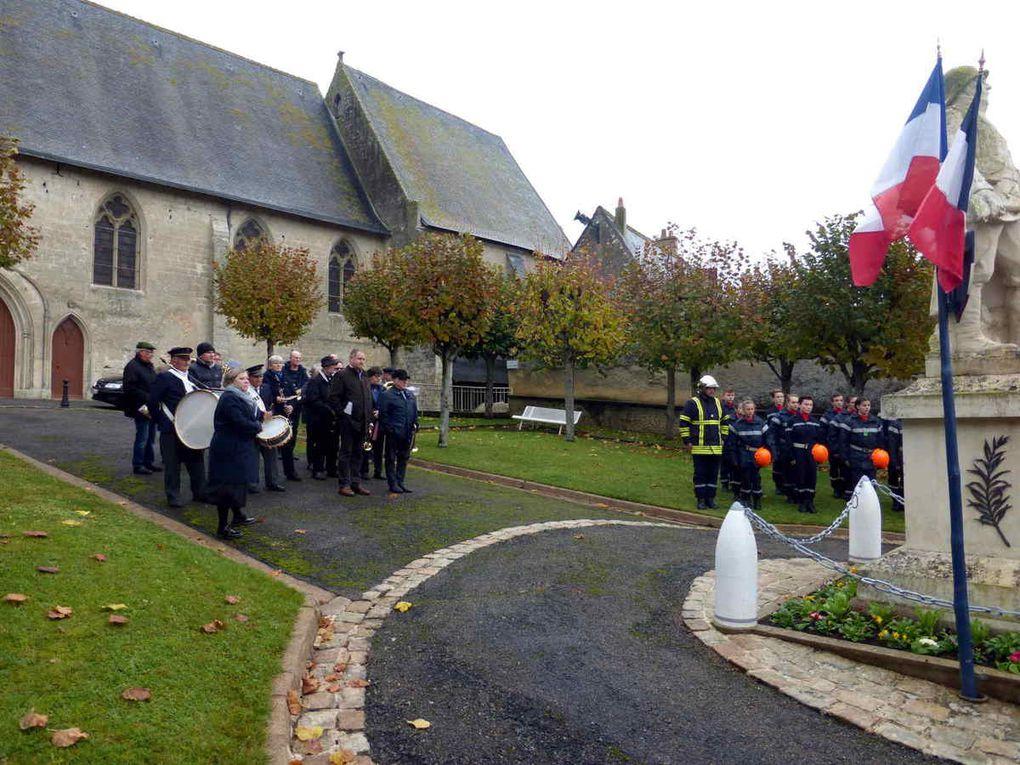 Commémoration du 11 novembre et remise de médaille à Saint-Christophe-sur-le-Nais