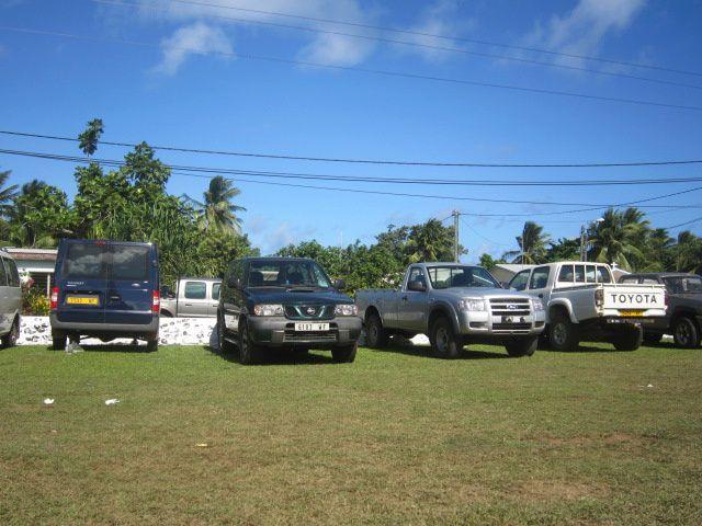 Voici quelques photos de la mise en place des offrandes sur la place de Malaefoou.