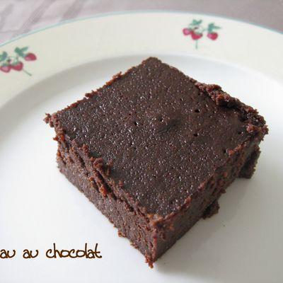 Gâteau très fort en chocolat