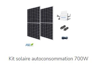 Kits solaires : divers modèles sont accessibles sur ASE Energy