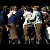 First NZ rugby game re-enactment