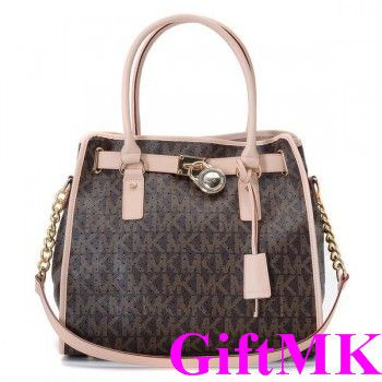 Michael Kors Perforated Logo Large Coffee Tote Bags Outlet