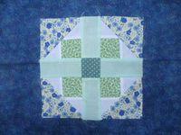 5 carrés - Hélice - Panier antique