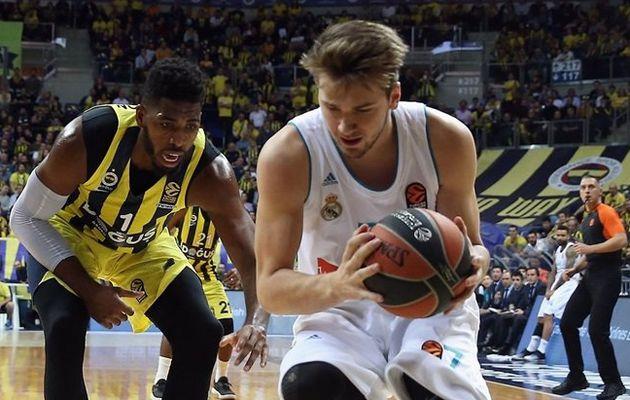 Le Real Madrid s'impose sur le parquet du Fenerbahçe