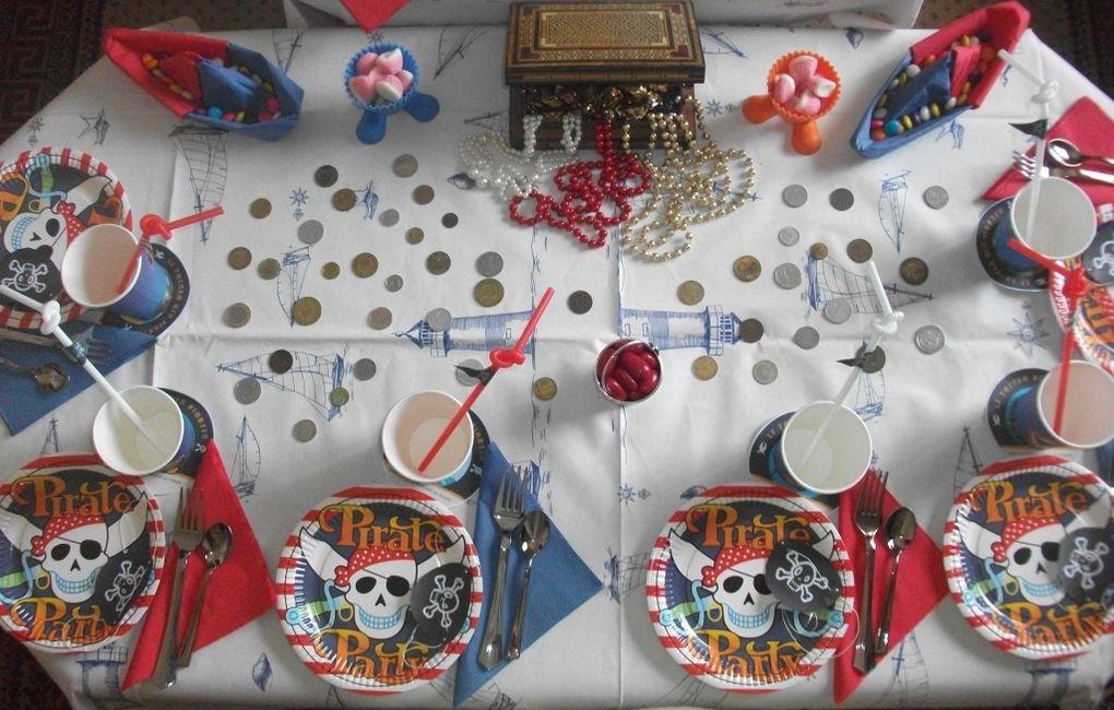Album - Table Pirate (garçon)