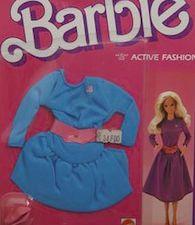 1985 BARBIE CLOTHES