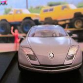 FASCICULE N°2 RENAULT FLUENCE CONCEPT CAR NOREV 1/43 ALTAYA CONCEPT CARS - car-collector.net