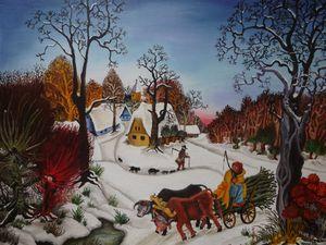 Scènes hivernales