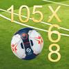 105x68 football