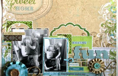 Scrapbooking : une page