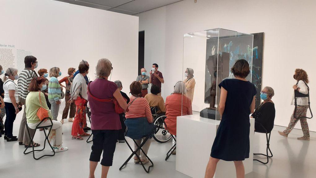 expo abstraction américaine au musée Fabre octobre 2021