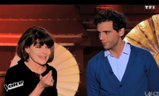 The Voice : les conseils de Fanny Ardant aux talents coachés par Mika.