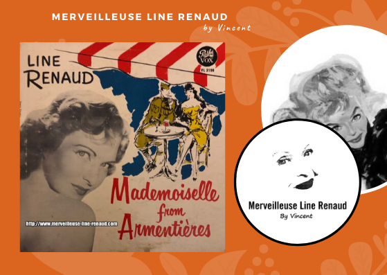 33 TOURS: 1952 Pathé/Vox - PG 240- Line Renaud Mademoiselle From Armentières (USA)