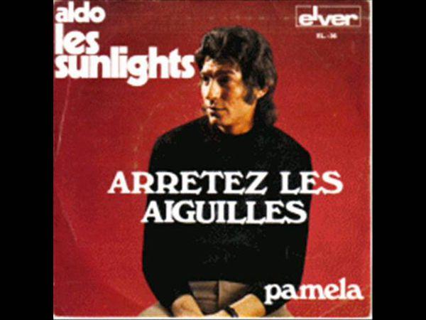 Aldo et les sunlights, une formation très connue mais qui ne sortit qu'un 45 tours Aldo et les sunlights, une véritable pépite musicale