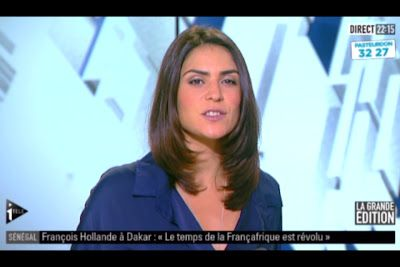 [2012 10 12] SONIA CHIRONI - I>TELE - LA GRANDE EDITION @22H00