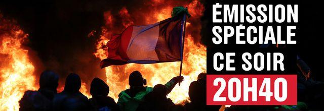 """""""Gilets jaunes: la France en crise"""", émissionspéciale en prime ce soir sur France 2"""