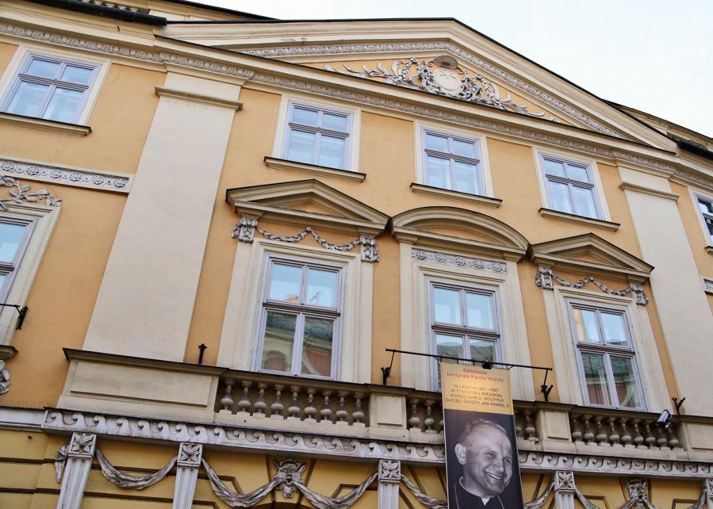Rue Kanonicza Cracovie Pologne