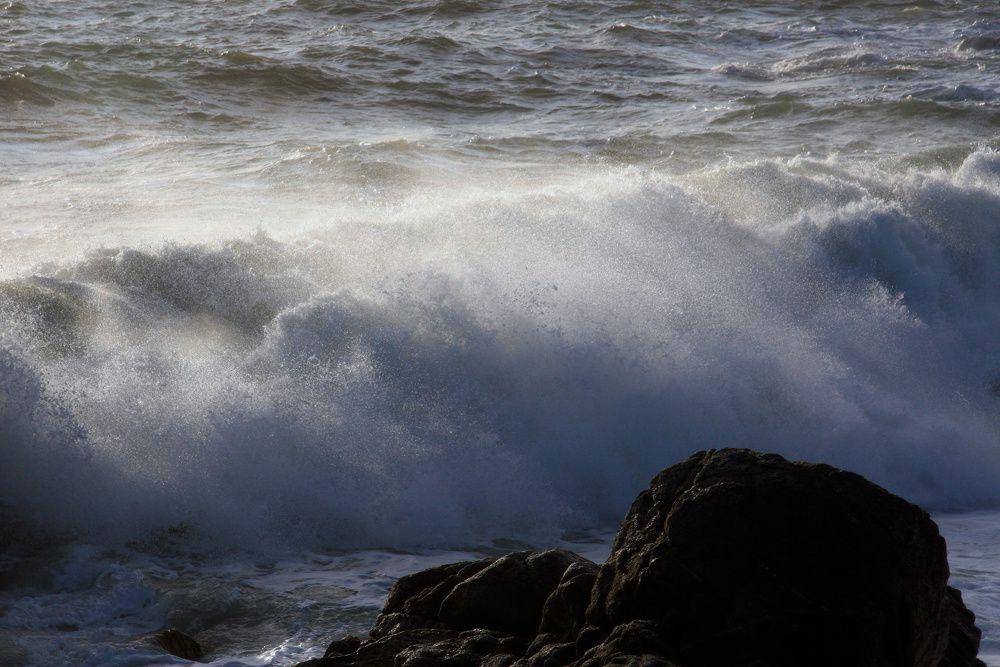 Tempête surla Côte Sauvage Batz-sur-Mer - Le Croisic (Loire-Atlantique)