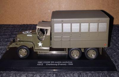 GMC CCKW 353 caisse atelier au 1/43ème (Atlas et Eagle Moss)