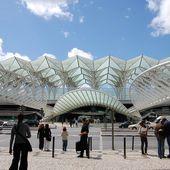 Santiago Calatrava - Gare d' Oriente Lisbonne - LANKAART