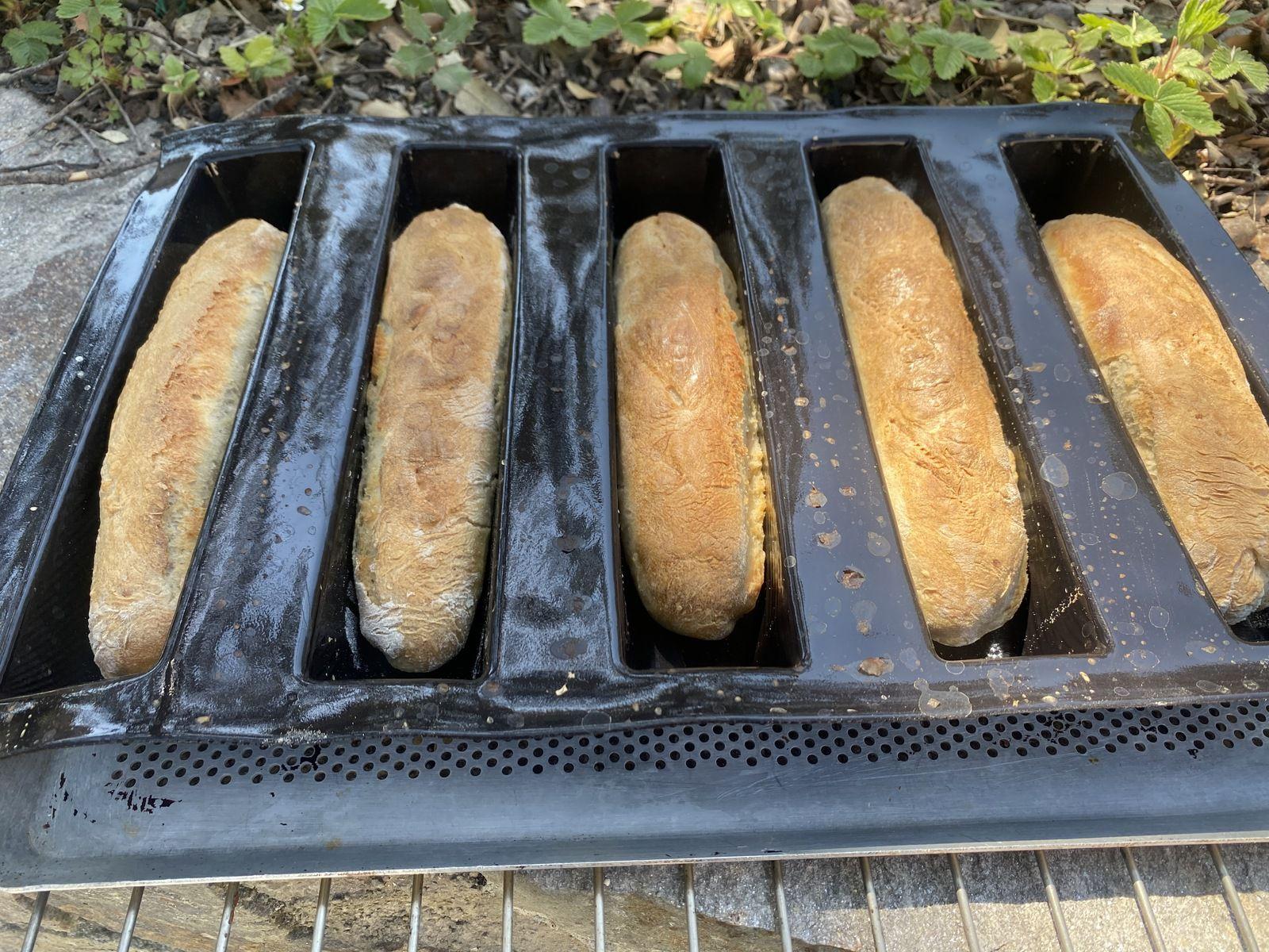 5 minis baguettes 3💚💙💜