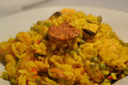 Paella weight watchers cookeo