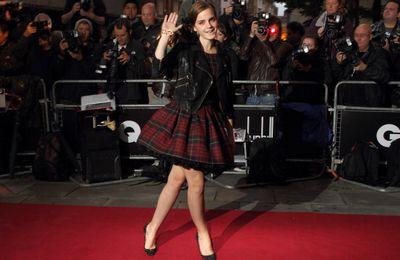 """Emma à la cérémonie des """"GQ Awards"""""""