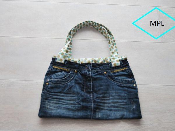 DIY recycler une  jupe en  sac,  tutoriel en photos