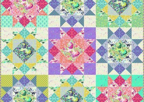 Comment j'ai débuté le patchwork moderne