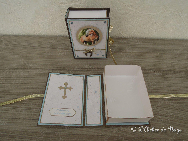 548 - Boîte à Dragées Communion Louise 10 octobre 2020