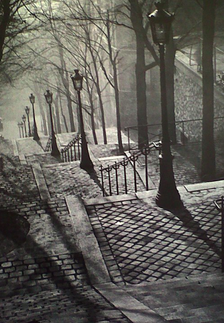 Escaliers des jardins du Sacré-Coeur