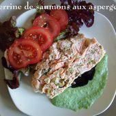 Terrine deux saumons aux asperges de Mamigoz - Chez Mamigoz
